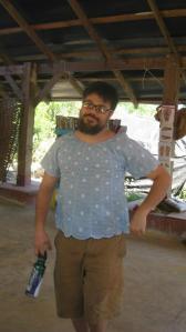 Nick in Haiti